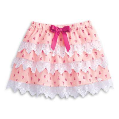 Lacy Tiered Skirt for Girls