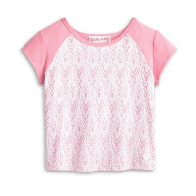 Lacy Tee for Girls