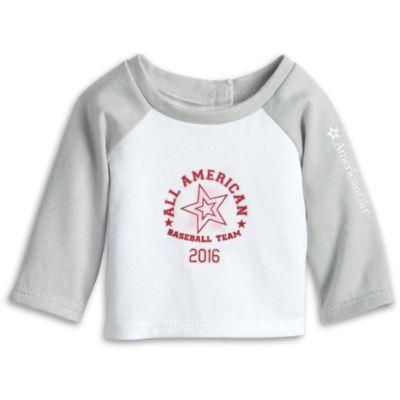 Baseball Tee for Dolls