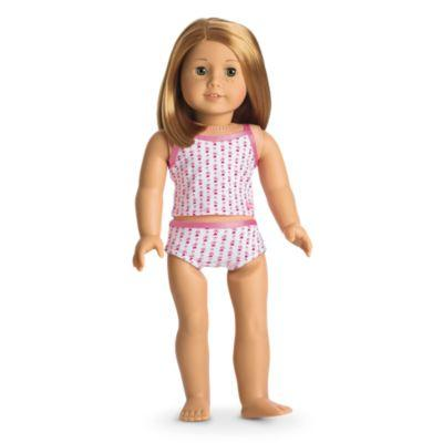 Heart Tank & Brief Set for 18-inch Dolls