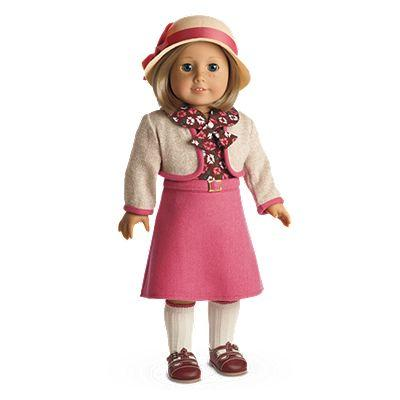 Kit's School Skirt Set for 18-inch Dolls