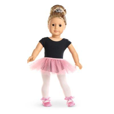 Pretty Pink Tutu Set for 18-inch Dolls