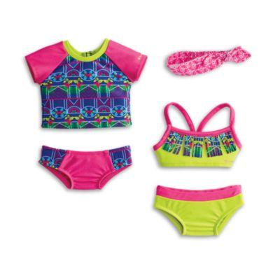 Mix & Match Swim Set for 18-inch Dolls