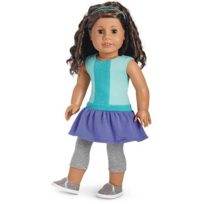Color-Block Dress for 18-inch Dolls