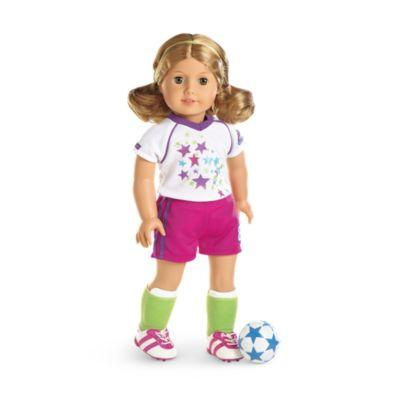Soccer Team Outfit for 18-inch Dolls