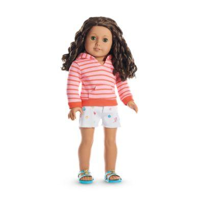 Seaside Fun Outfit for 18-inch Dolls