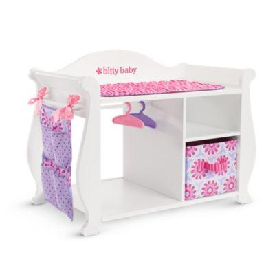 Bitty's Changing Table & Storage