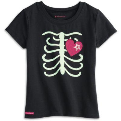 Skeleton Tee for Girls