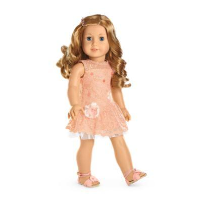Shimmer & Lace Party Dress for 18-inch Dolls