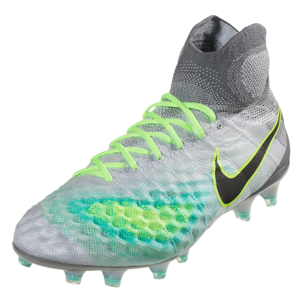 Nike Magista Obra II FG Pure Platinum/Black/Hyper Turq/Wolf Grey/Cool Grey/Ghost Green