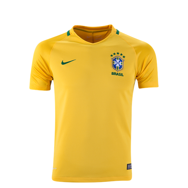 Nike Brazil Youth Home Jersey 2016