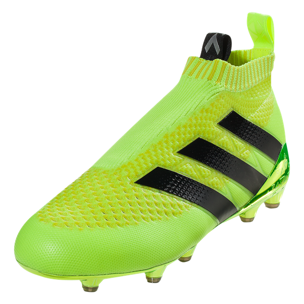 adidas ACE 16+ PURECONTROL FG Solar Yellow/Black/Silver Metallic