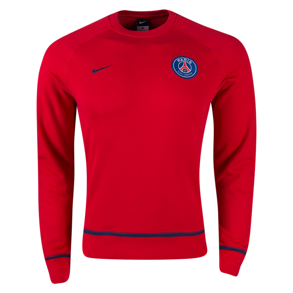 Nike Paris Saint-Germain AW77 Long Sleeve Crew 2016