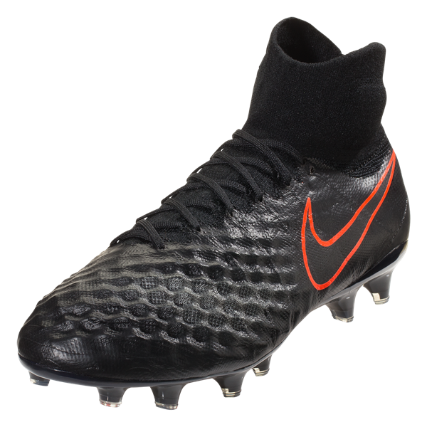 Nike Magista Obra II FG Black/Black/Total Crimson