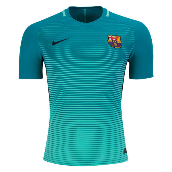 Nike Barcelona Authentic Third Jersey 16/17