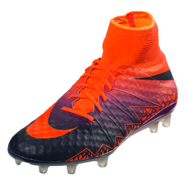 Nike Hypervenom Phantom II FG - Total Crimson/Obsidian/Vivid Purple/Bright Citrus