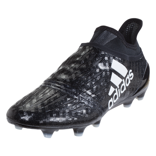 adidas X 16+ Purechaos Soccer Cleat - Black/White/Black