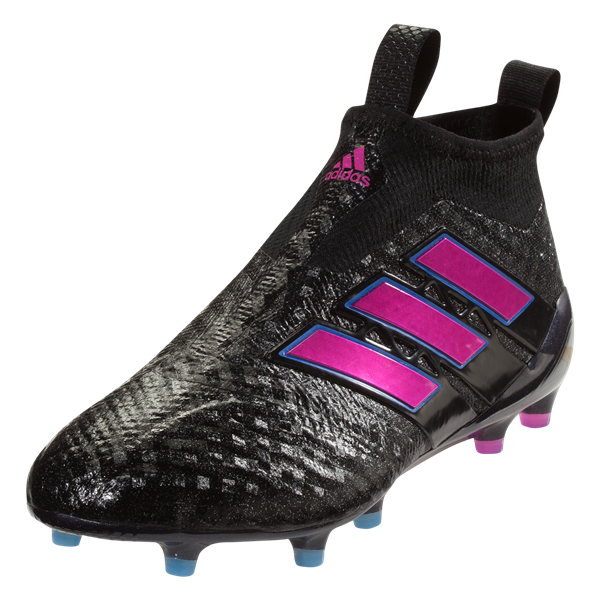 adidas Ace 17+ Purecontrol FG Soccer Cleat - Black/Shock Pink