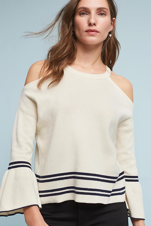 Leandre Open-Shoulder Top