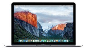 12-inch MacBook 1.1GHz Dual-core Intel Core m3- Space Gray