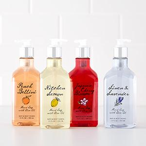 Hand Soaps with Olive Oil