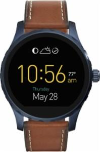 Fossil - Q Marshal Gen 2 Smartwatch 45mm Stainless Steel - Blue