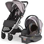 gb Alara Travel System Stroller and Asana35 Infant Car Seat - Mink
