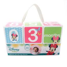 Disney Minnie Mouse Milestone Blocks