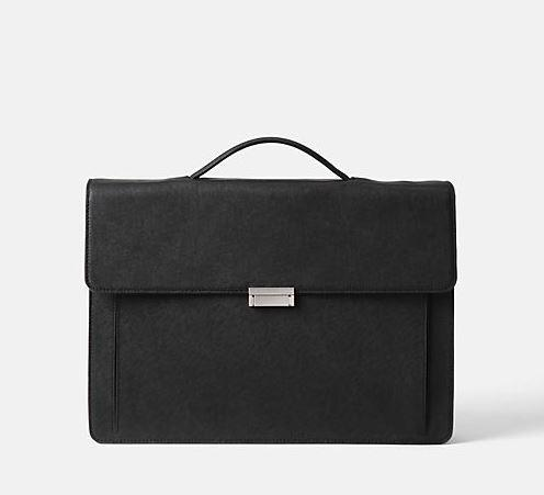 50% Off Jack Spade Barrow Leather Top Handle Brief
