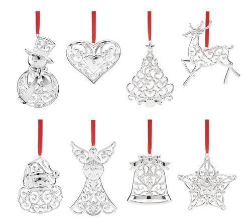 88% Off Lenox Sparkle & Scroll 8-piece Ornament Set