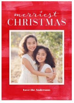 61% Off 5x7 Christmas Flat Photo Cards Set of 20