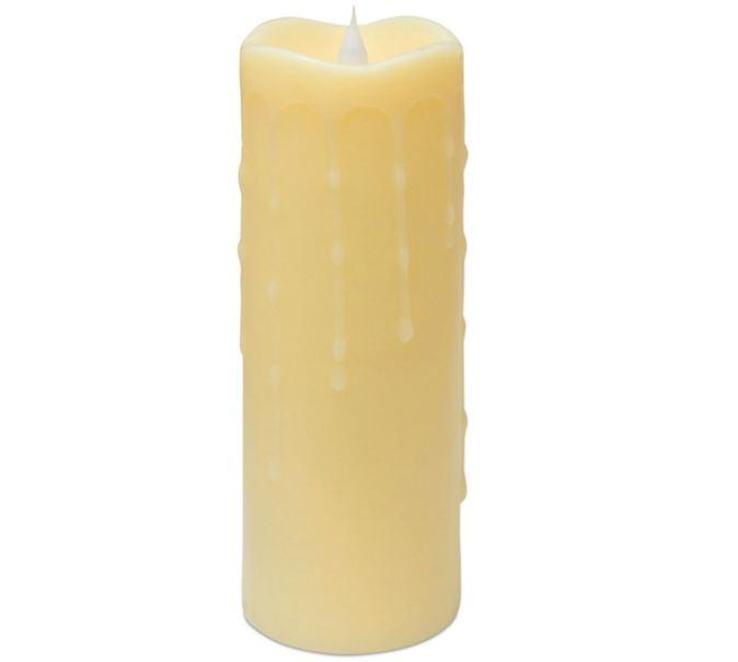 45% Off Melrose International Honey Simplux LED Dripping Candle with Moving Flame