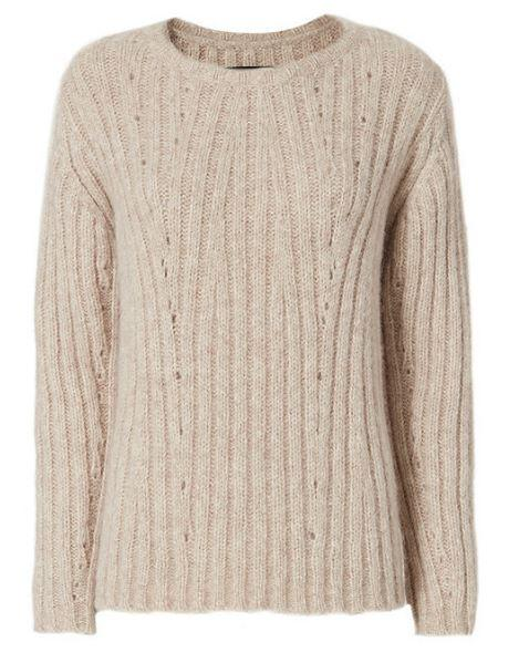60% Off Nili Lotan Cable Knit Sweater