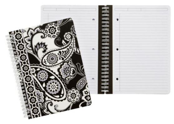 Midnight Paisley Mini Notebook By Vera Bradley