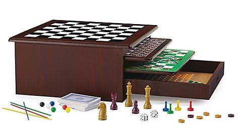 Quality 12 In 1 Set Of Wood Game Center