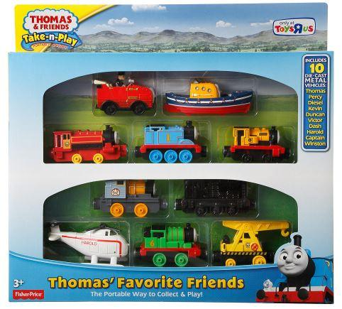Thomas And Friends Take-n-Play Thomas From Fisher-Price
