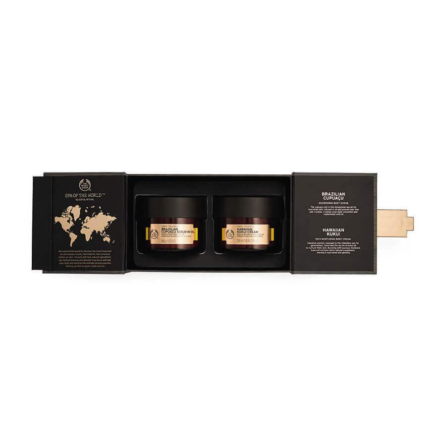 $68 Blissful Spa Of The World Gift Set 11.8 oz