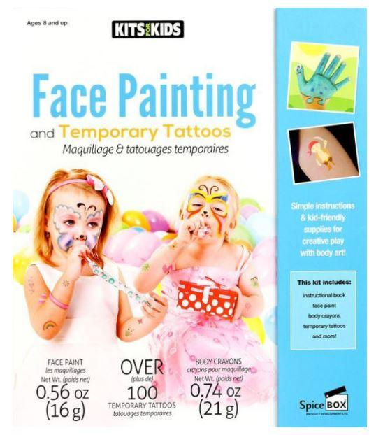 Temp Tattoos And Face Painting Spicebox