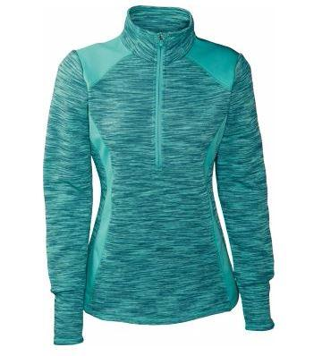 Ultrasoft Avalanche Women's Twisted 1/4-Zip Pullover Stretch Side Panels