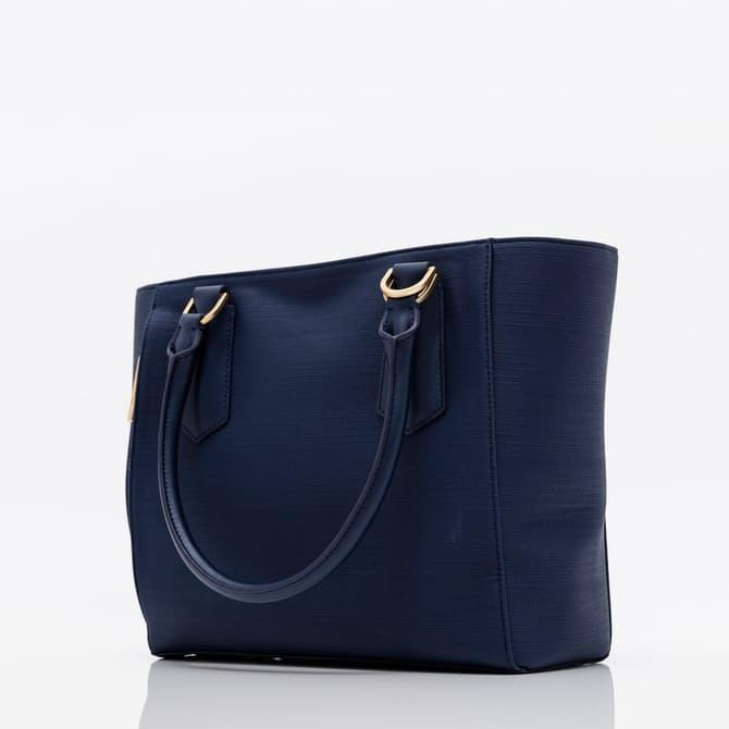 Get 47% Off Dagne Dover Midnight Blue Mini Tote Bag