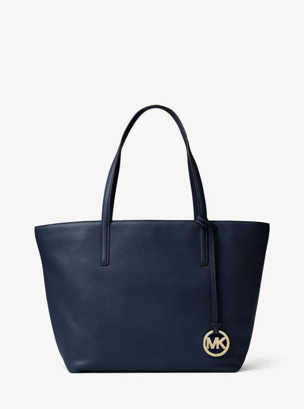 Enjoy 63% Off Michael Kors Izzy Large Italian Leather Tote