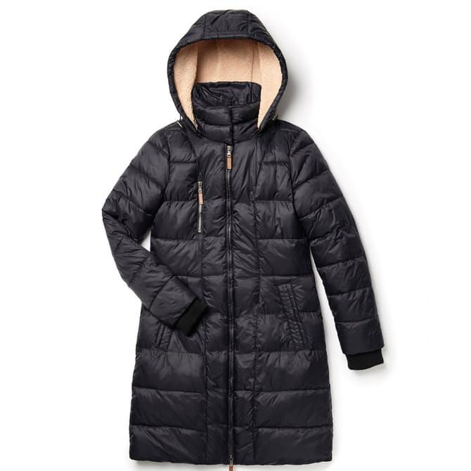 Enjoy 61% Off G.H. Bass & Co Long Water Resistant Puffer Jacket