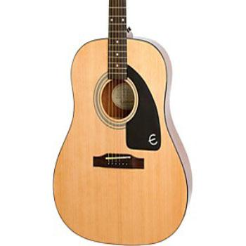 AJ-100 Epiphone Ltd. Ed. Acoustic Guitar Natural