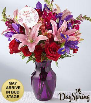 God is Love Valentine's Day Bouquet By DaySpring®