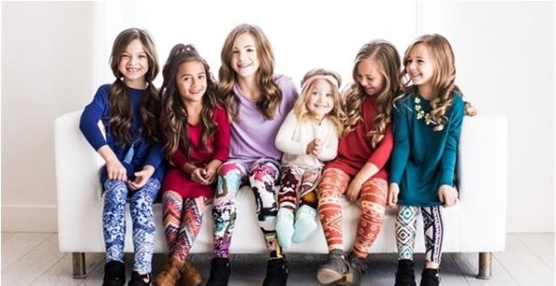 Ultra-Soft Printed Leggings For Kids Sizing 3-11 years