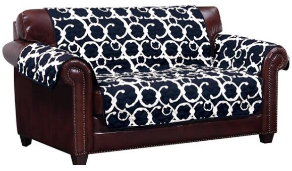 Pet Friendly And Water Resistant Loveseat Cover
