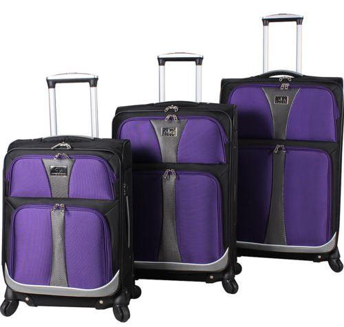 Verdi Bailo Expandable Spinner-Set 3 Piece Luggage Set