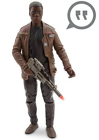 Fully Articulated Finn Talking Figure
