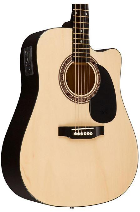 RA-090 Dreadnought Cutaway Acoustic-Electric Guitar