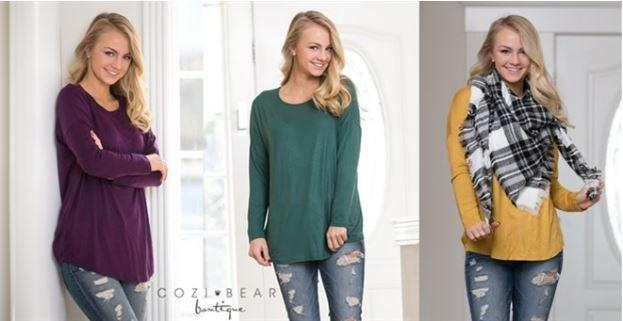 Soft And Flowy Relaxed Long Sleeve Crew Neck